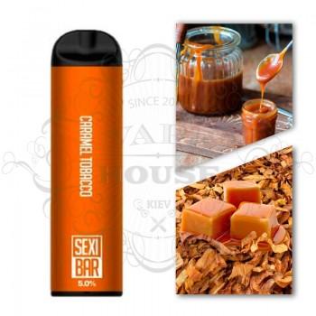Одноразовая электронная сигарета —  SexiBar Caramel Tobacco