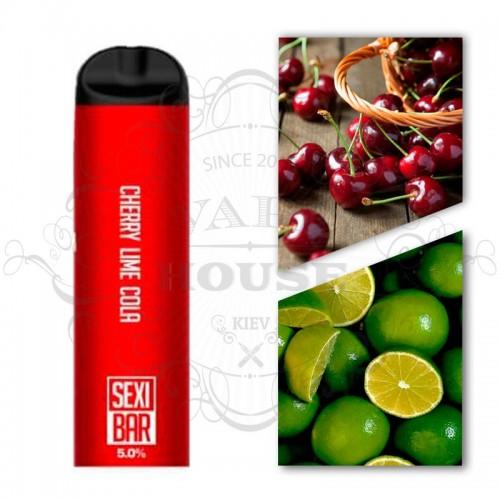 Одноразовая электронная сигарета — SexiBar Cherry Lime Cola