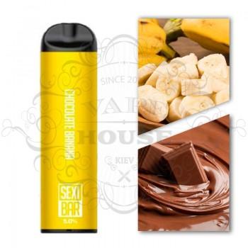 Одноразовая электронная сигарета —  SexiBar Chocolate Banana