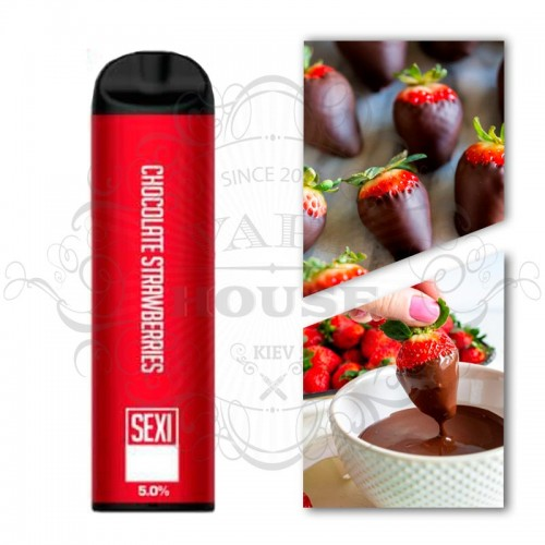 Одноразовая электронная сигарета — SexiBar Chocolate Strawberry