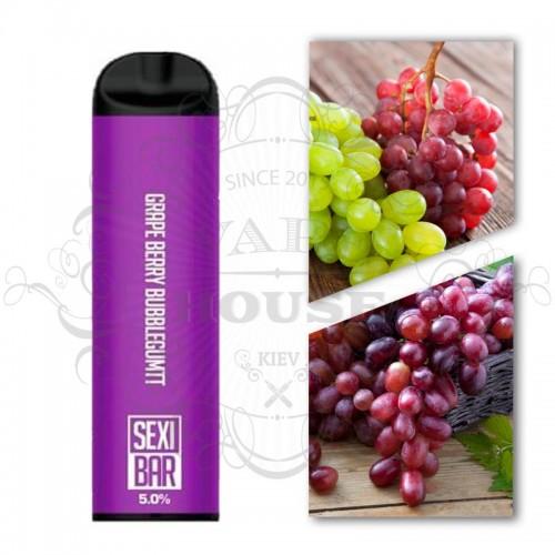 Одноразовая электронная сигарета — SexiBar Grape Berry Bubblegum