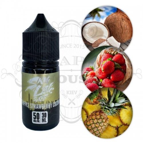 Премиум жидкость Skyline Salt — Pineapple Strawberry Coconut