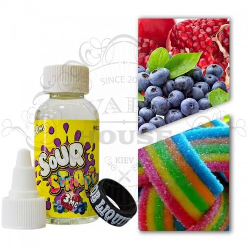 Премиум жидкость Sour Strapz — Blueberry Pomegranate