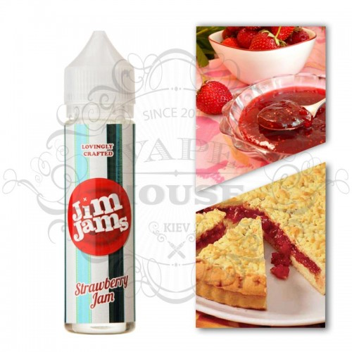 Премиум жидкость 3ger — Strawberry Jam