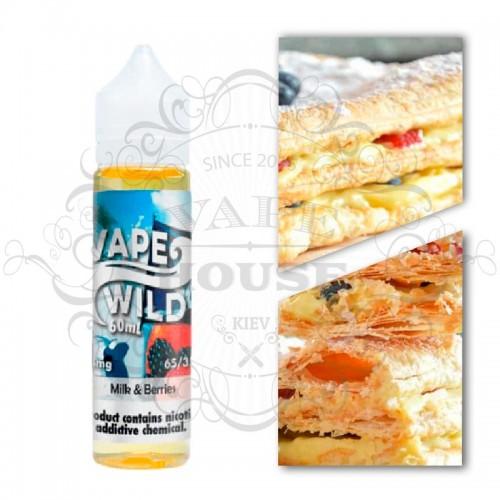 Премиум жидкость Vape Wild — Milk Berries