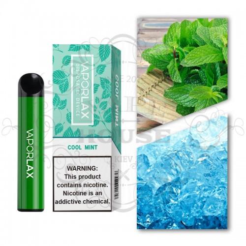 Одноразовая электронная сигарета — Vaporlax 1500 Cool mint