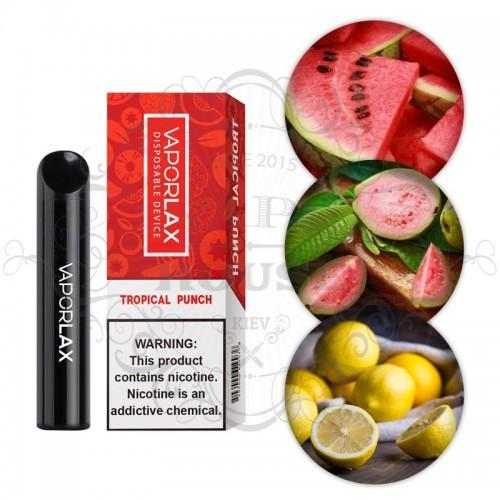 Одноразовая электронная сигарета — Vaporlax 1500 Tropical Punch