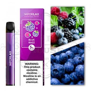 Одноразовая электронная сигарета —  Vaporlax Disposable Mate Blue Razz