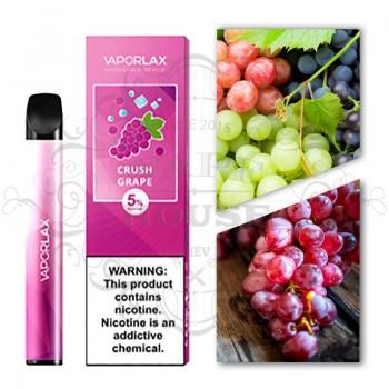 Одноразовая электронная сигарета —  Vaporlax Disposable Mate Crush Grap