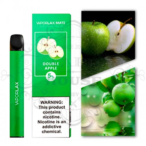 Одноразовая электронная сигарета — Vaporlax Disposable Mate Double Apple