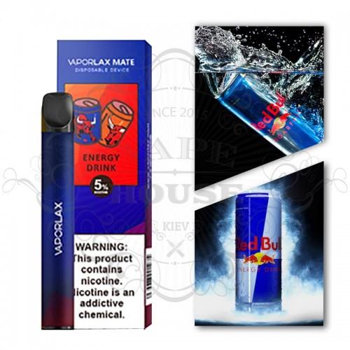 Одноразовая электронная сигарета — Vaporlax Disposable Mate Energy Drink