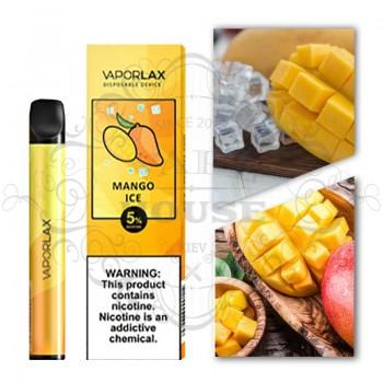 Одноразовая электронная сигарета —  Vaporlax Disposable Mate Mango Ice