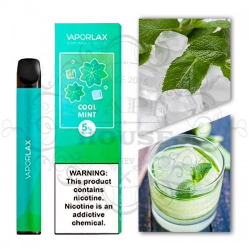 Одноразовая электронная сигарета — Vaporlax Disposable Mate Mint