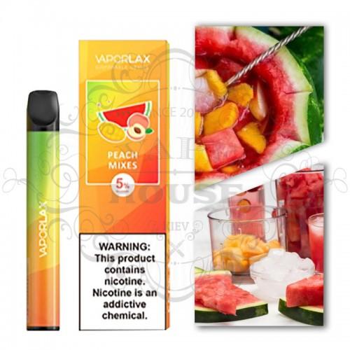 Одноразовая электронная сигарета — Vaporlax Disposable Mate Peach Mix