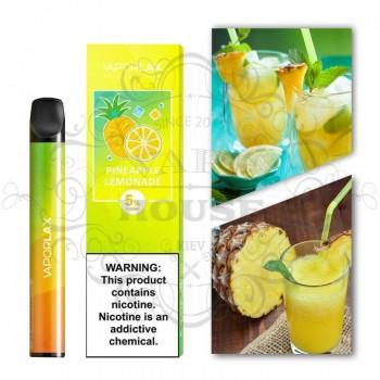 Одноразовая электронная сигарета —  Vaporlax Disposable Mate Pineapple Lemonade