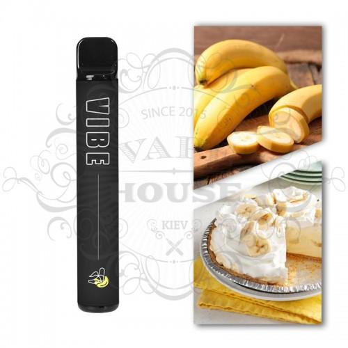 Одноразовая электронная сигарета — Vibe 1200 Banana Cream