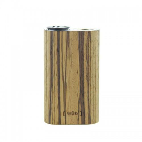 Наклейка из натурального дерева для Wismec Noisy Cricket (Zebra Wood)