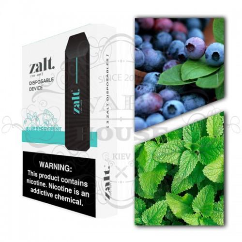 Одноразовая электронная сигарета — Zalt Disposable Blueberry Mint