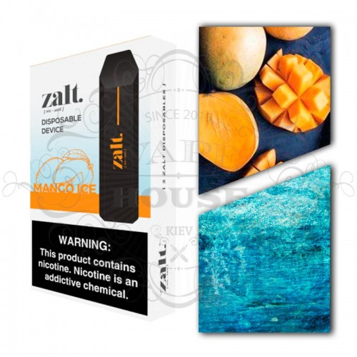 Одноразовая электронная сигарета — Zalt Disposable Mango Ice