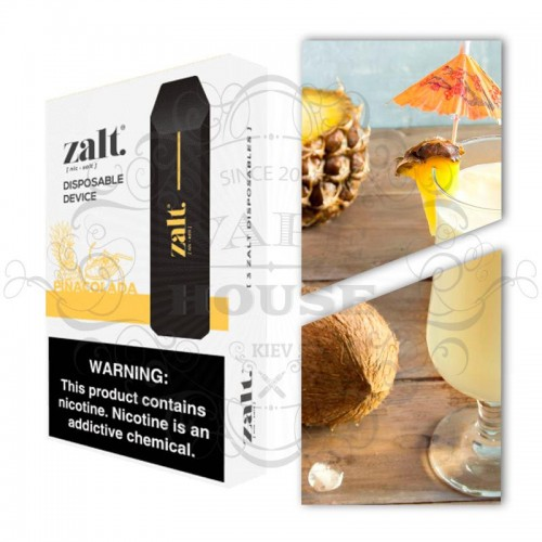 Одноразовая электронная сигарета — Zalt Disposable Pina Colada