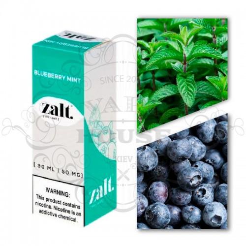 Премиум жидкость Zalt Salt — Blueberry Mint