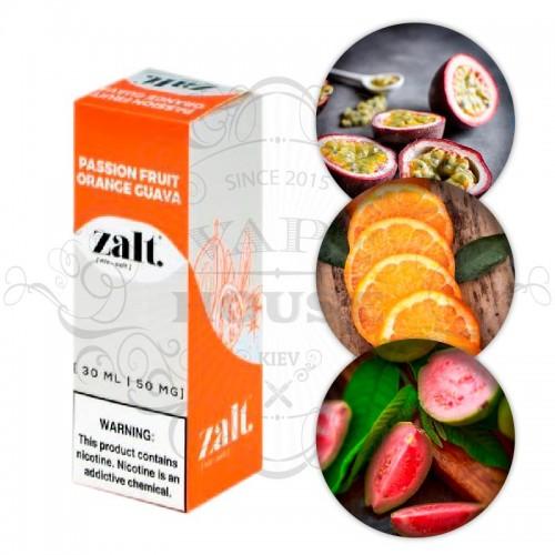 Премиум жидкость Zalt Salt — Passion Fruit Orange Guava