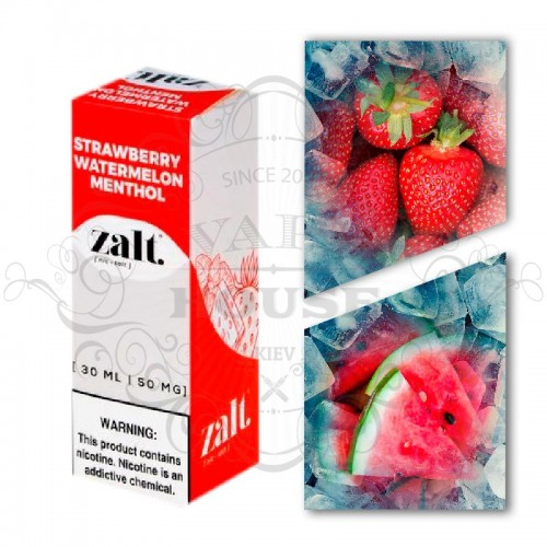 Премиум жидкость Zalt Salt — Strawberry Watermelon Menthol