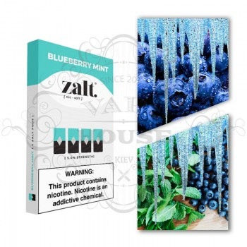Картридж Zalt Blueberry Mint — Juul совместимые