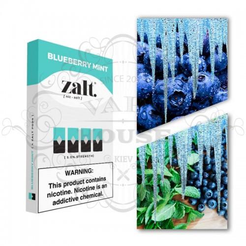 Картридж — Zalt Blueberry Mint — Juul совместимые
