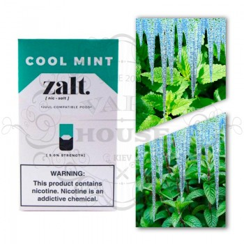 Картридж Zalt Cool Mint — Juul совместимые