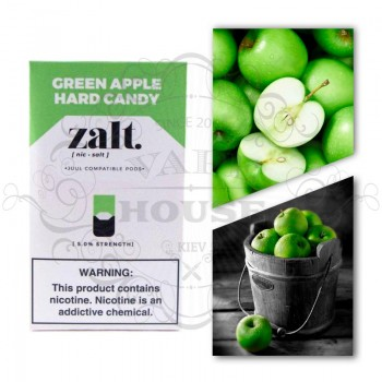 Картридж Zalt Green Apple — Juul совместимые