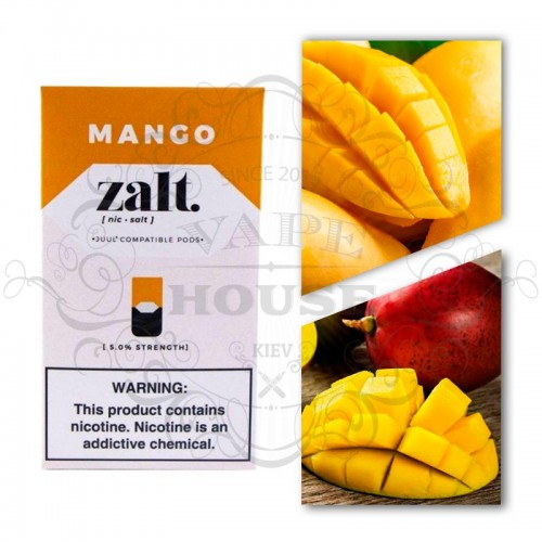 Картридж — Zalt Mango — Juul совместимые