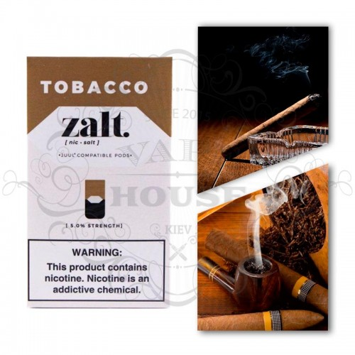 Картридж — Zalt Tobacco — Juul совместимые